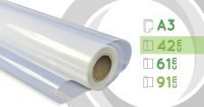 Película de Poliester Inkjet 42cm - Resistente a humedad