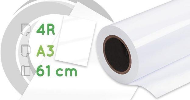 Papel fotográfico lustre premium - 4R, A3, rollo 61 cm