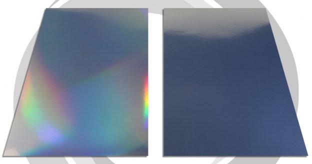 Papel fotográfico plateado/holográfico para impresión Inkjet - A3 190gr
