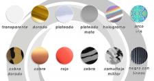 Vinil transfer poliéster en 12 colores - 1 m x 50 cm